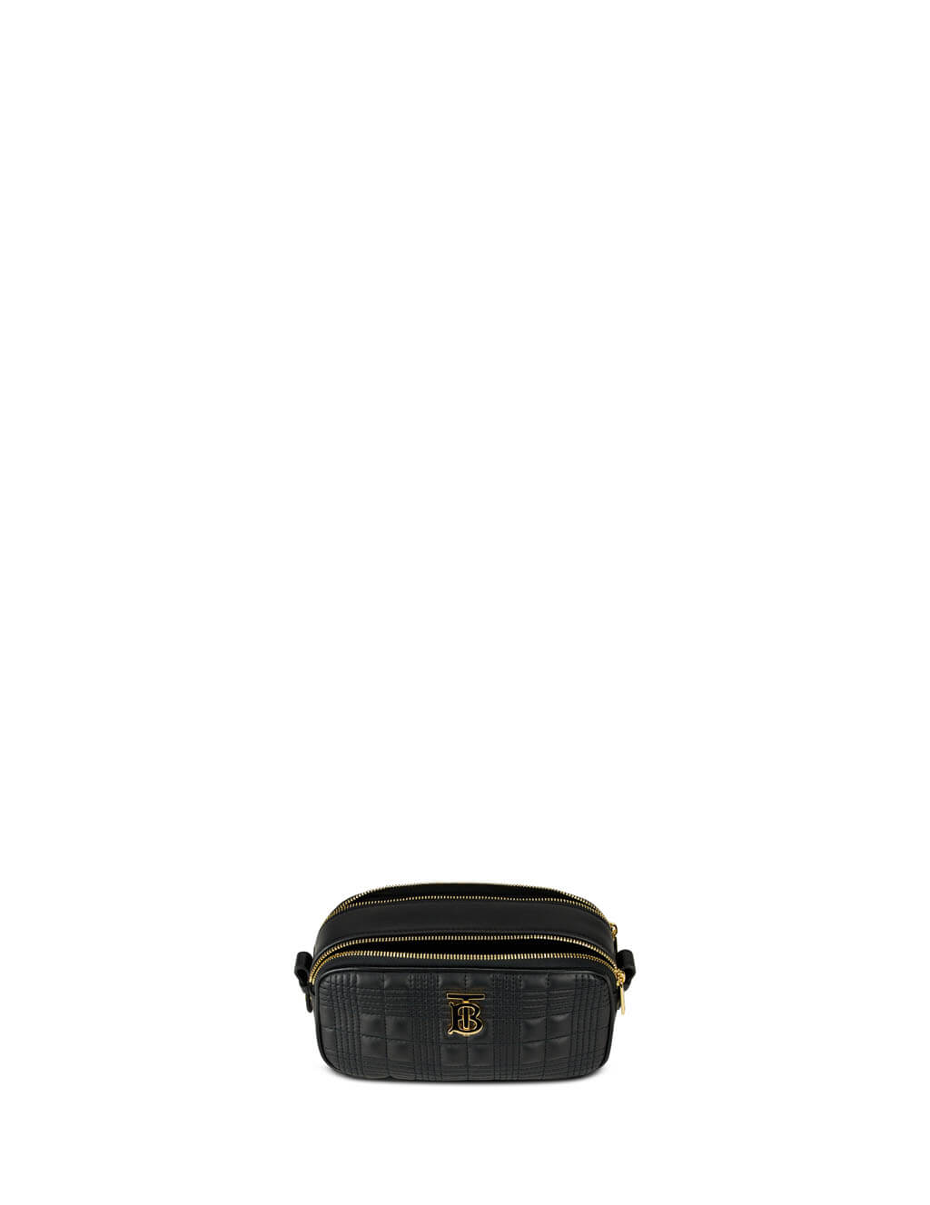 Burberry Women's Black Quilted Camera Bag 8023339 A1189
