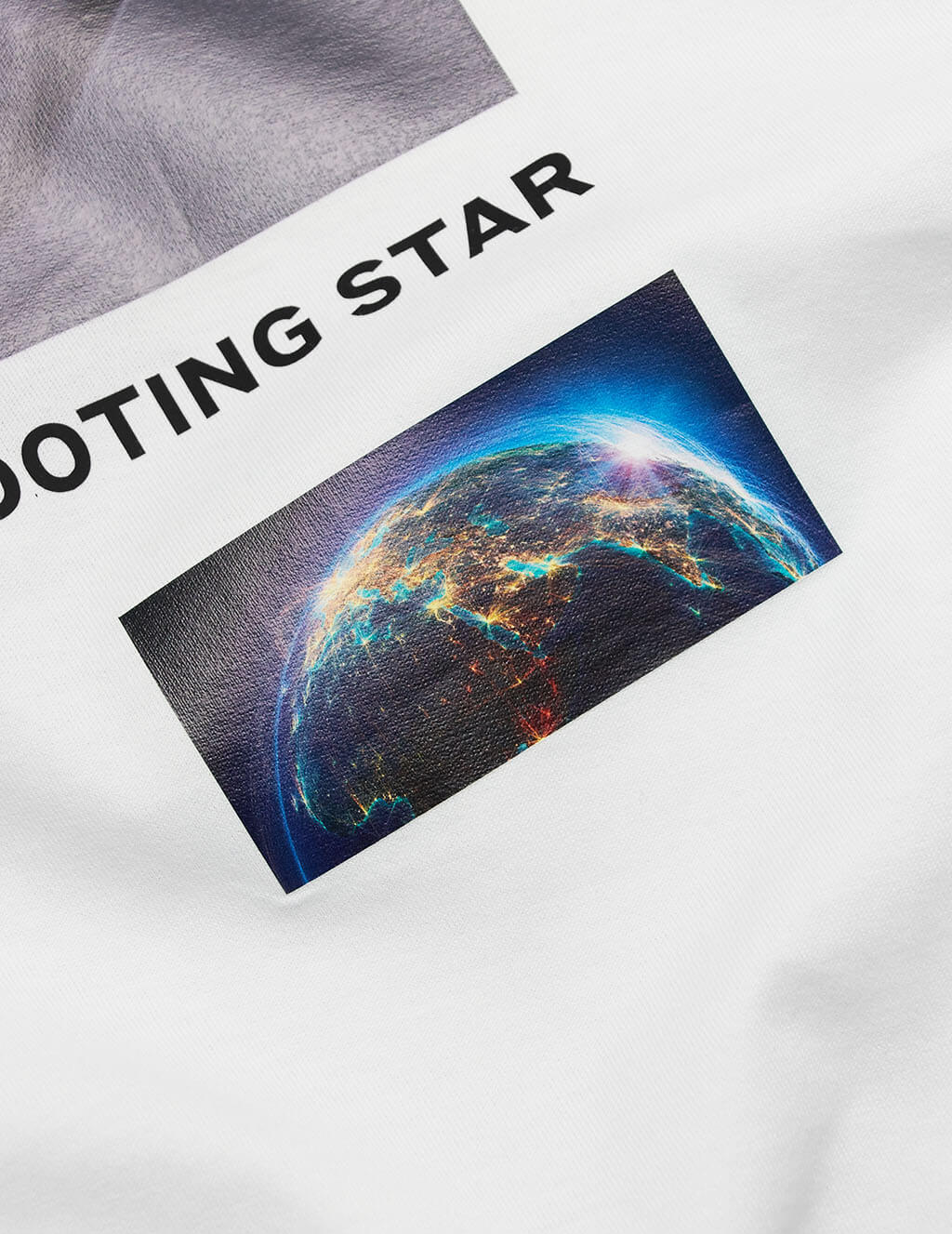 Men's White Burberry Shooting Star T-Shirt 8024733 A1464