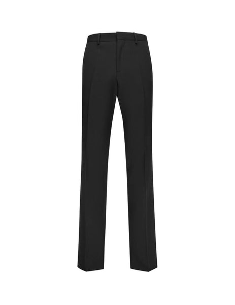 Burberry Men's Giulio Fashion Black Tailored Trousers 4558253A1189