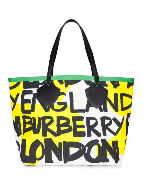 Burberry Women's Giulio Fashion Black/Green The Giant Tote 407582500100