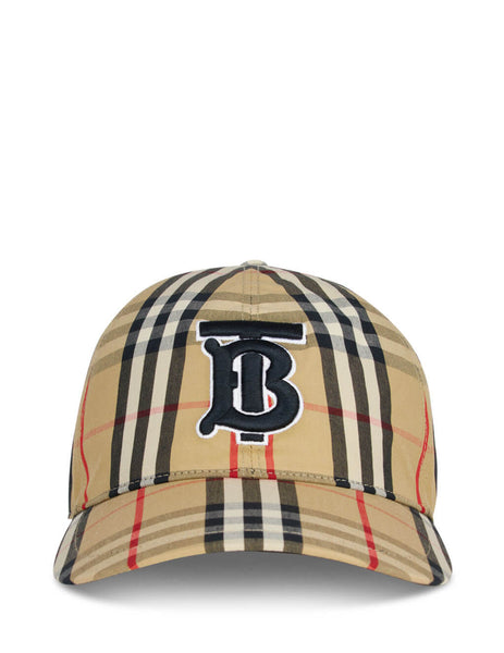 Burberry Women's Beige Vintage Check Baseball Cap 8027502 A7028