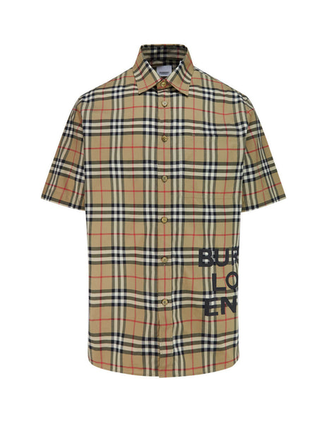 Vintage Check Oversized Shirt