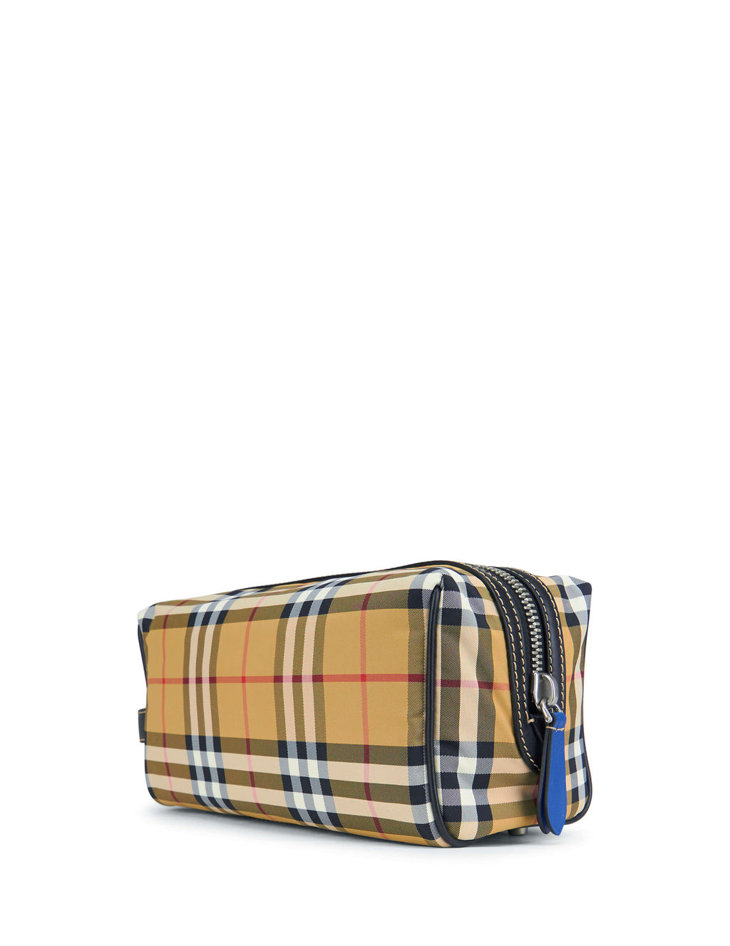 Burberry Men's Giulio Fashion Antique Yellow Vintage Check Wash Bag 8006881A2442