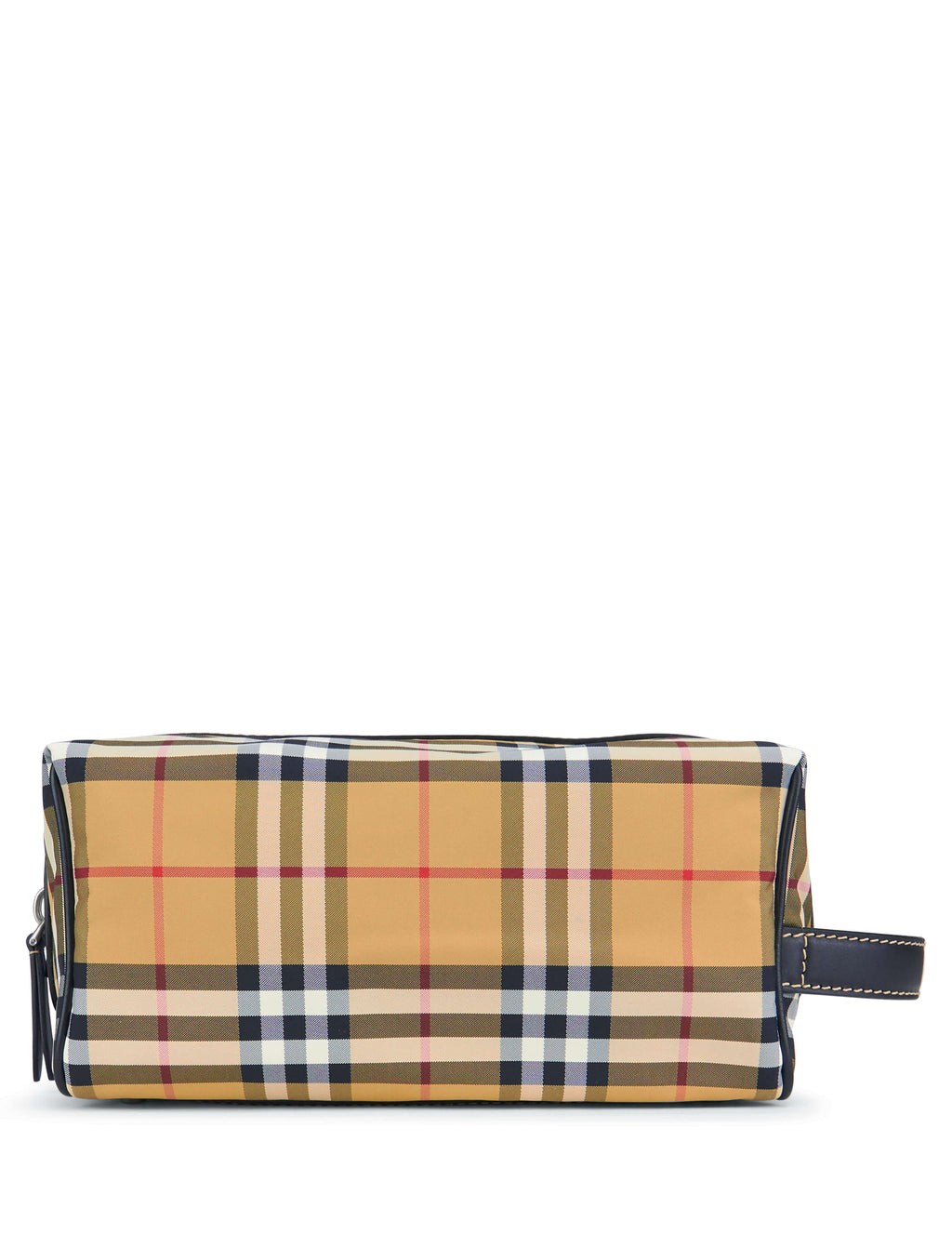 Burberry Men's Giulio Fashion Antique Yellow Check Wash Bag 8006881A2442