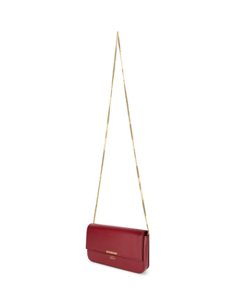 Burberry Women's Crimson Wallet on a Chain 8030547 A1509