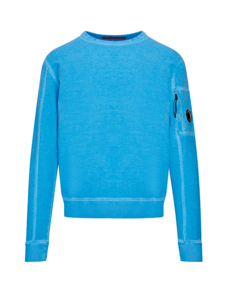C.P. Company Riviera Cotton Fleece Lens Sweatshirt SS183A005398S818