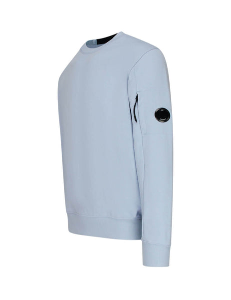 C.P. Company Light Blue Fleece Lens Sweatshirt SS014A005160W817