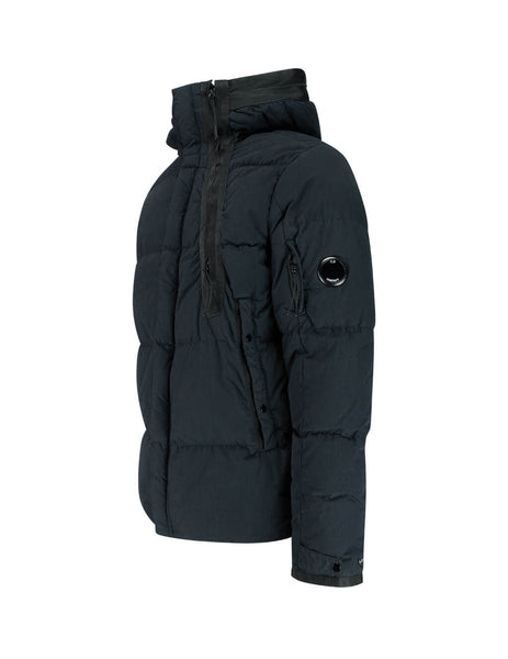 C.P. Company 50 Fili Medium Down Jacket in Total Eclipse 07CMOW202B005503G888