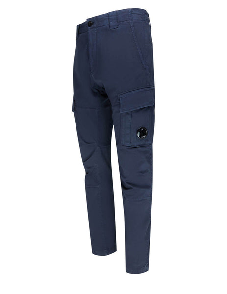Men's C.P. Company Cargo Lens Trousers in Total Eclipse - 10CMPA151A005694G888