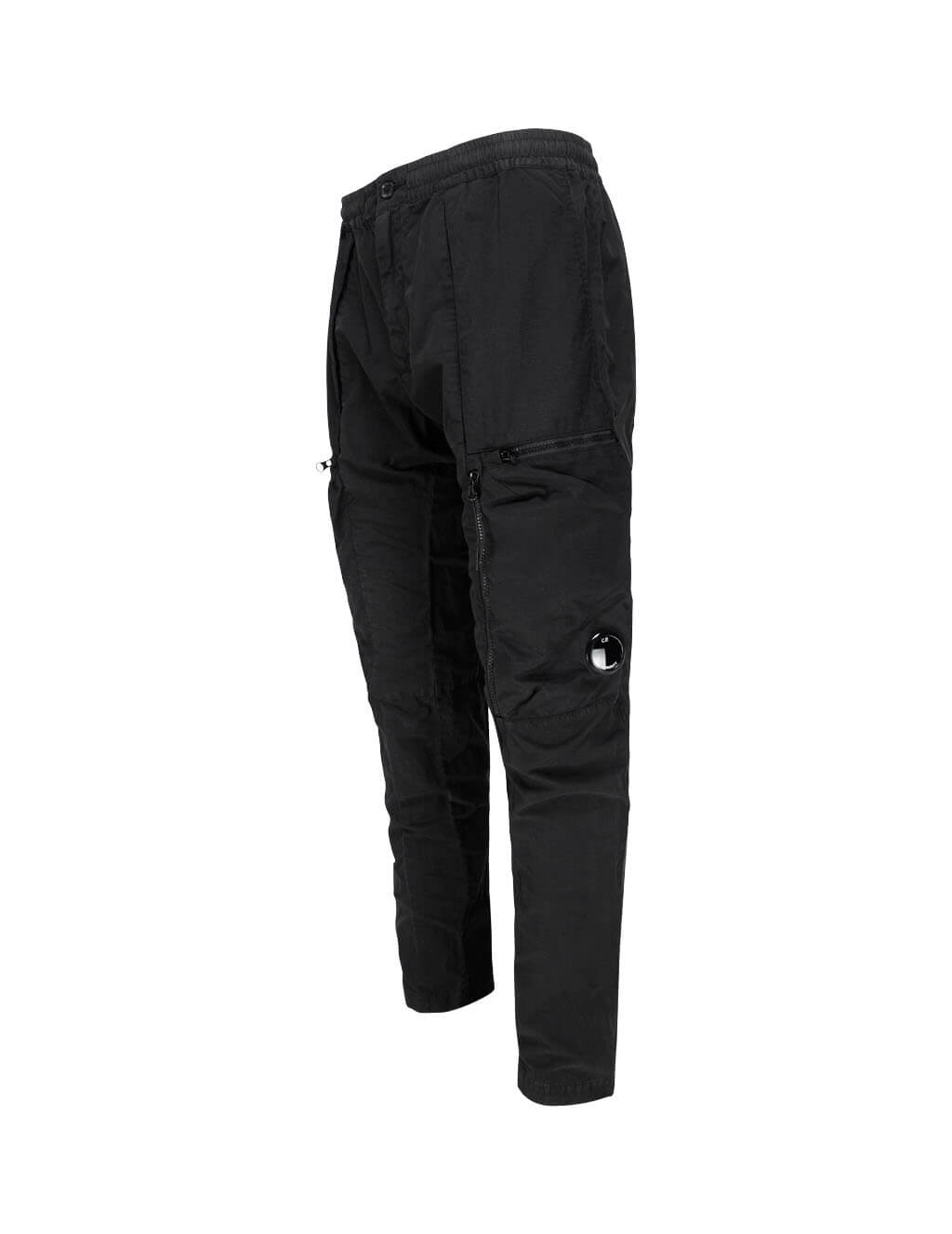 C.P. Company Men's Giulio Fashion Black Cargo Pants MPA140A005532G999