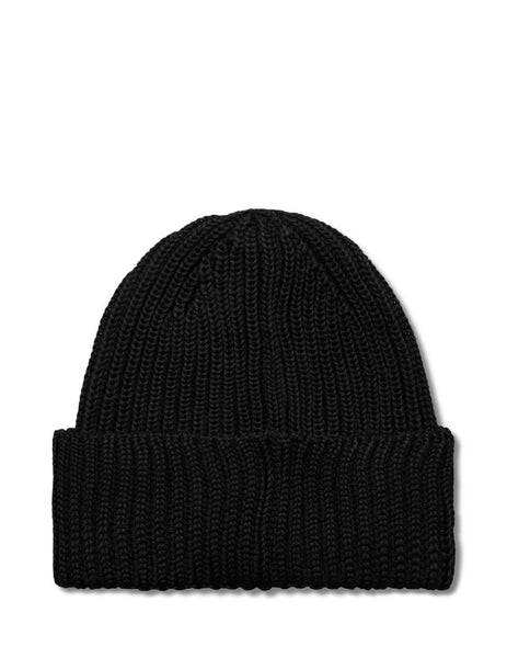 C.P. Company Men's Giulio Fashion Black Goggle Knitted Hat MAC239A005509A999