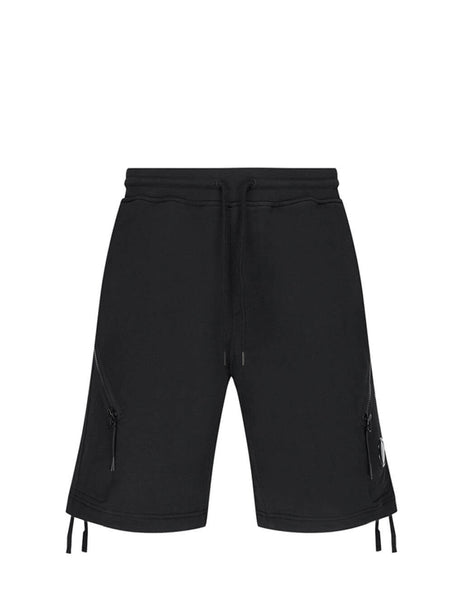 C.P. Company Men's Giulio Fashion Black Jogging Bermuda Shorts MSB030A005086W999