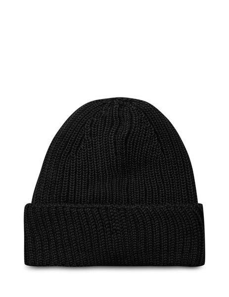 C.P. Company Men's Black Lens Beanie MAC237A005509A999