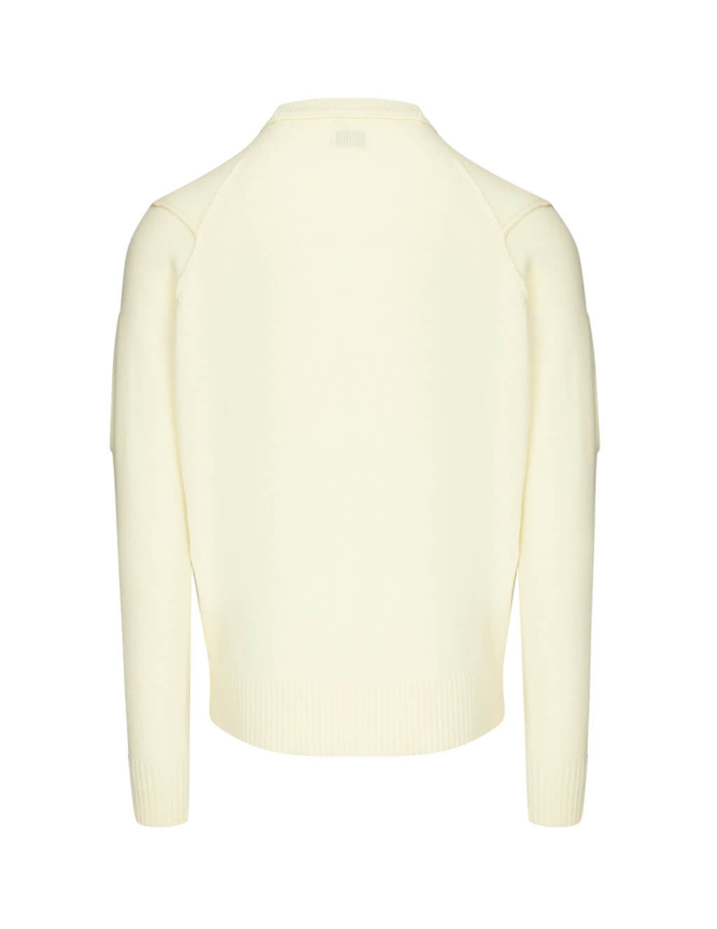 C.P. Company Men's Giulio Fashion White Lens Sleeve Knit 07CMKN064A005504A103