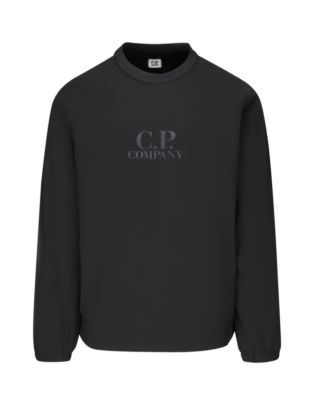 C.P. Company Men's Giulio Fashion Black Logo Sweatshirt 07CMSS025A004117A999