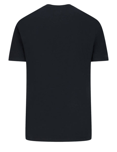 Men's C.P. Company Metropolis Series 30/1 T-Shirt in Black - 10CMTS065A005100W999