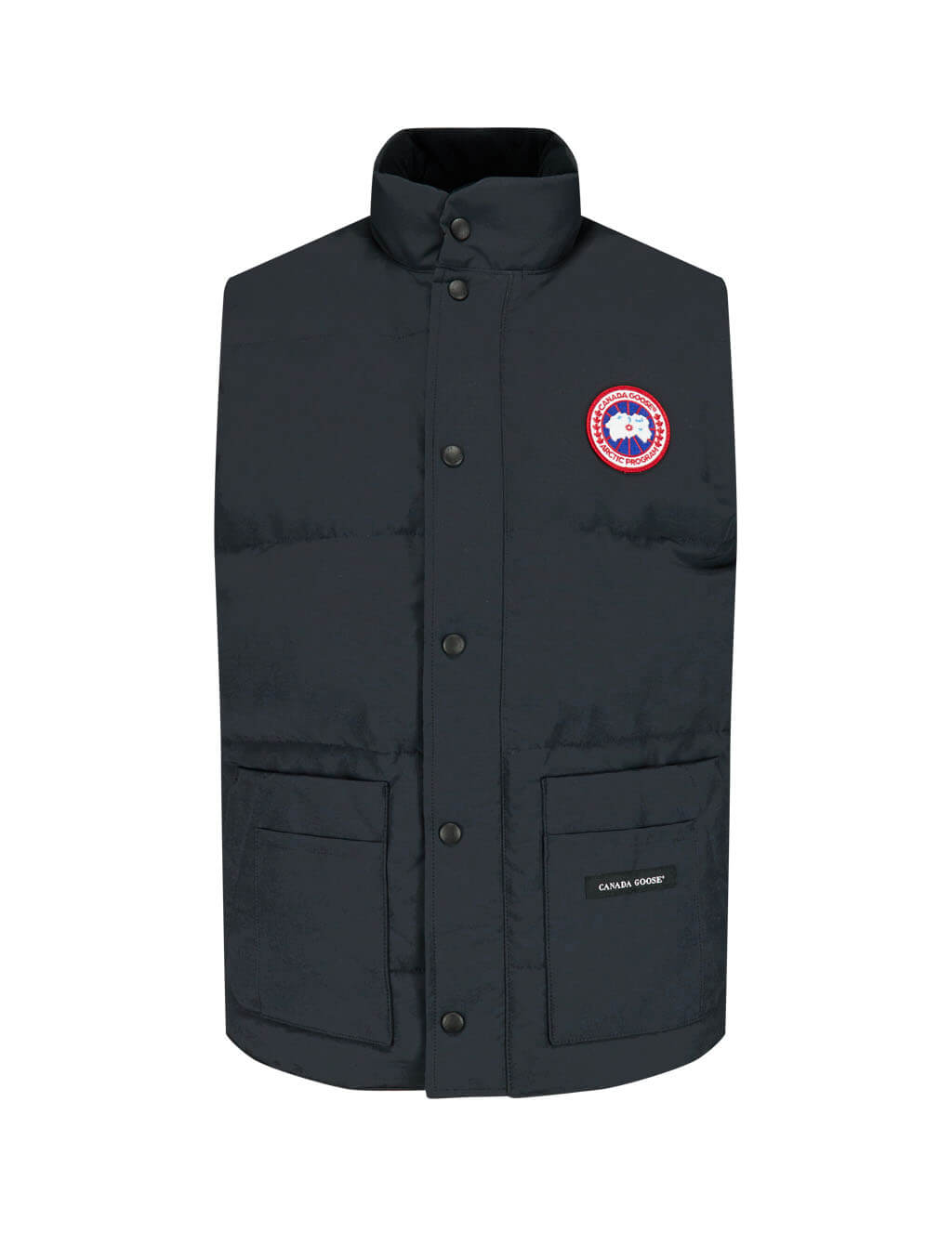 Canada Goose Men's Giulio Fashion Navy Freestyle Crew Vest 4154M67