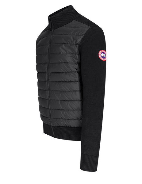 Men's Canada Goose Hybridge Knit Jacket in Black. 6830M61