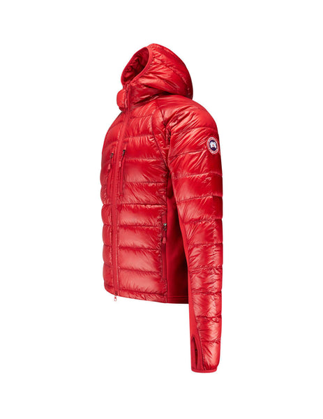 Canada Goose Men's Giulio Fashion Red Hybridge Lite Hoody 2703M11