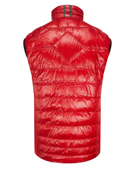 Men's Canada Goose Hybridge Lite Tech Down Gilet in Red - 2715M11