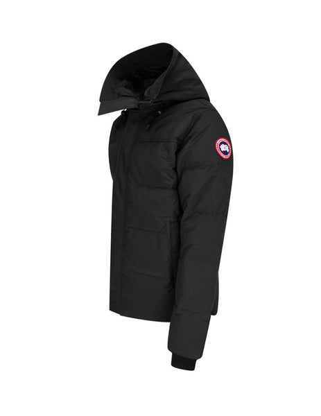 Men's Canada Goose MacMillan Parka in Black. 3804M61