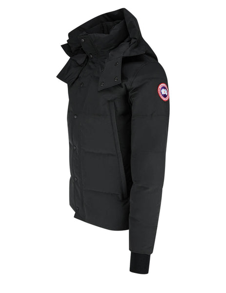 Canada Goose Men's Black Wyndham Parka 3808MT61