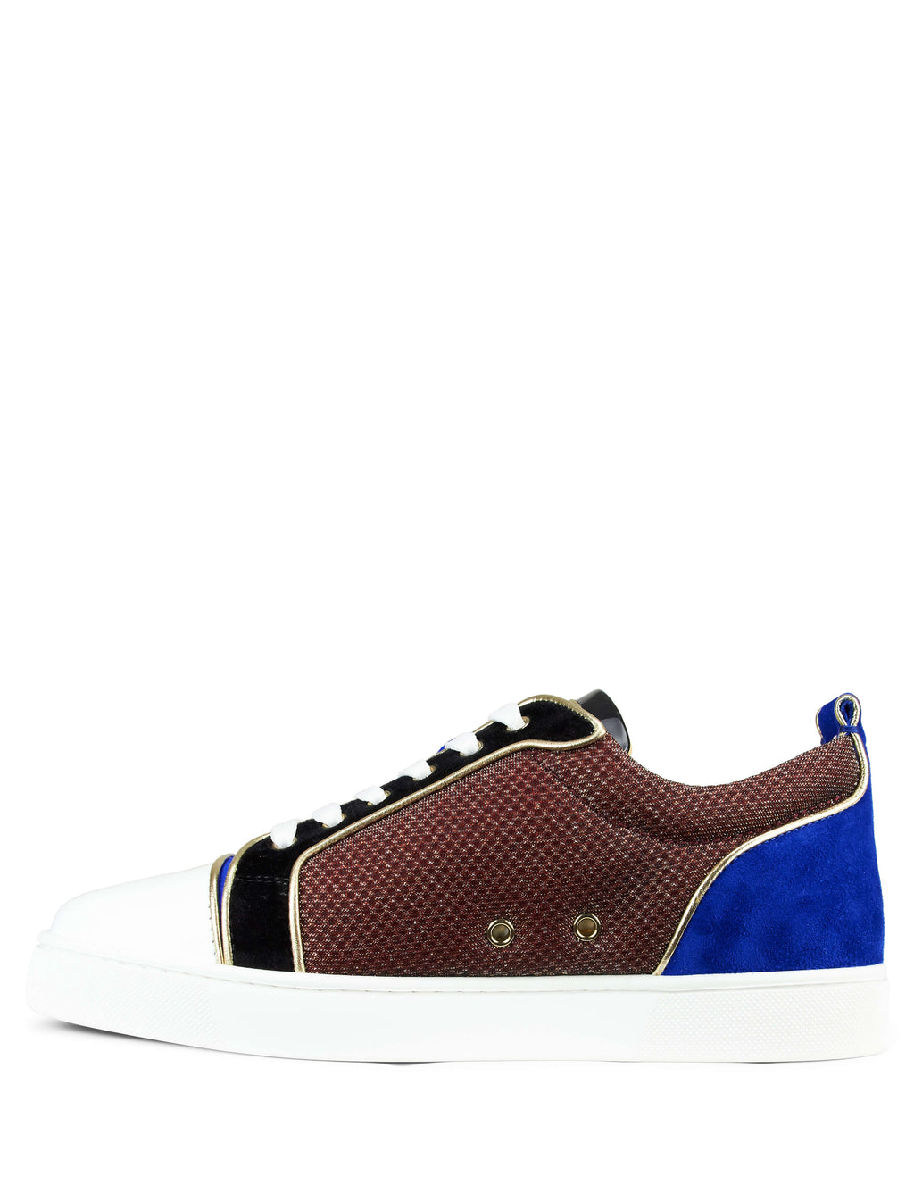 Christian Louboutin Louis Junior Orlato Sneaker Blue 3180957cma3 Men's Giulio Fashion