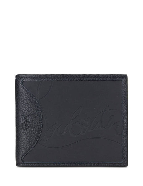 Christian Louboutin Coolcard Sneakers Sole Wallet Black 3195052CM53