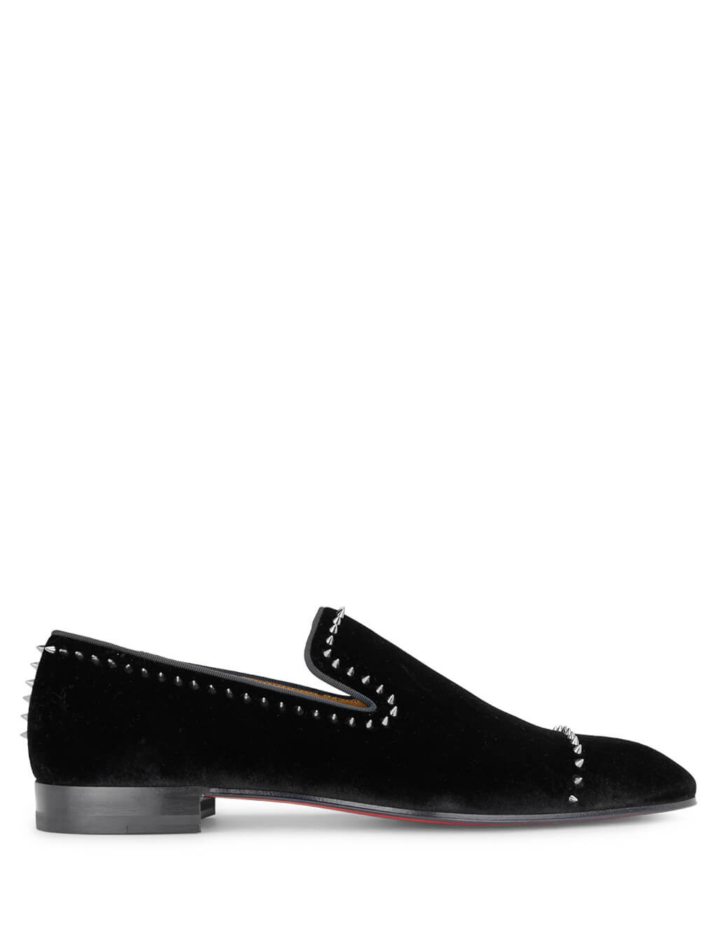 Christian Louboutin Men's Giulio Fashion Black Dandeton Loafers 3191156B002
