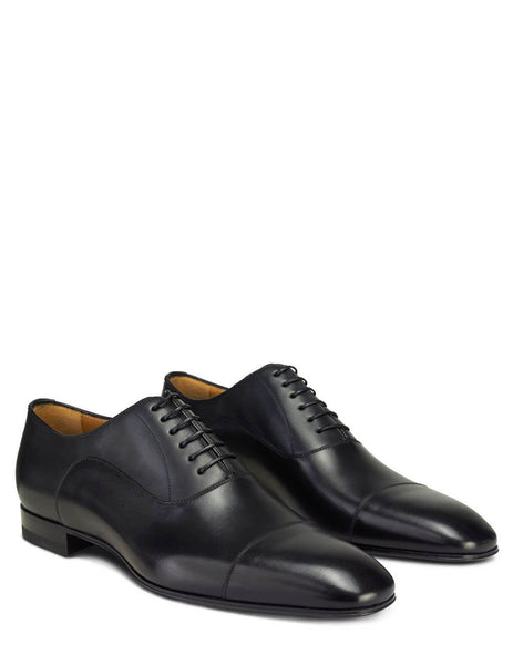 Christian Louboutin Men's Giulio Fashion Black Greggo Oxford Shoes 1150376BK01