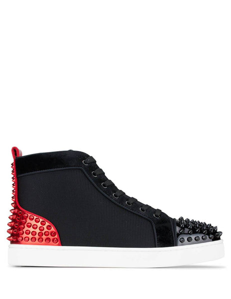 Christian Louboutin Lou Spikes 2 Sneakers Version Black 3190915CM47