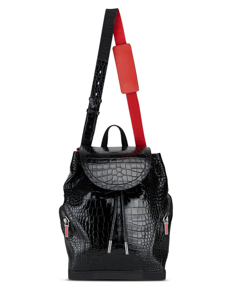 Alligator Print Explorafunk S Backpack