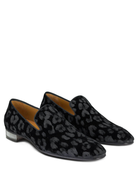 Christian Louboutin Men's Black Colonnaki Loafers 3190580Bk01