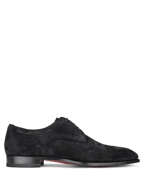 Christian Louboutin Men's Giulio Fashion Black Cousin Charles Shoes 3191252BK01