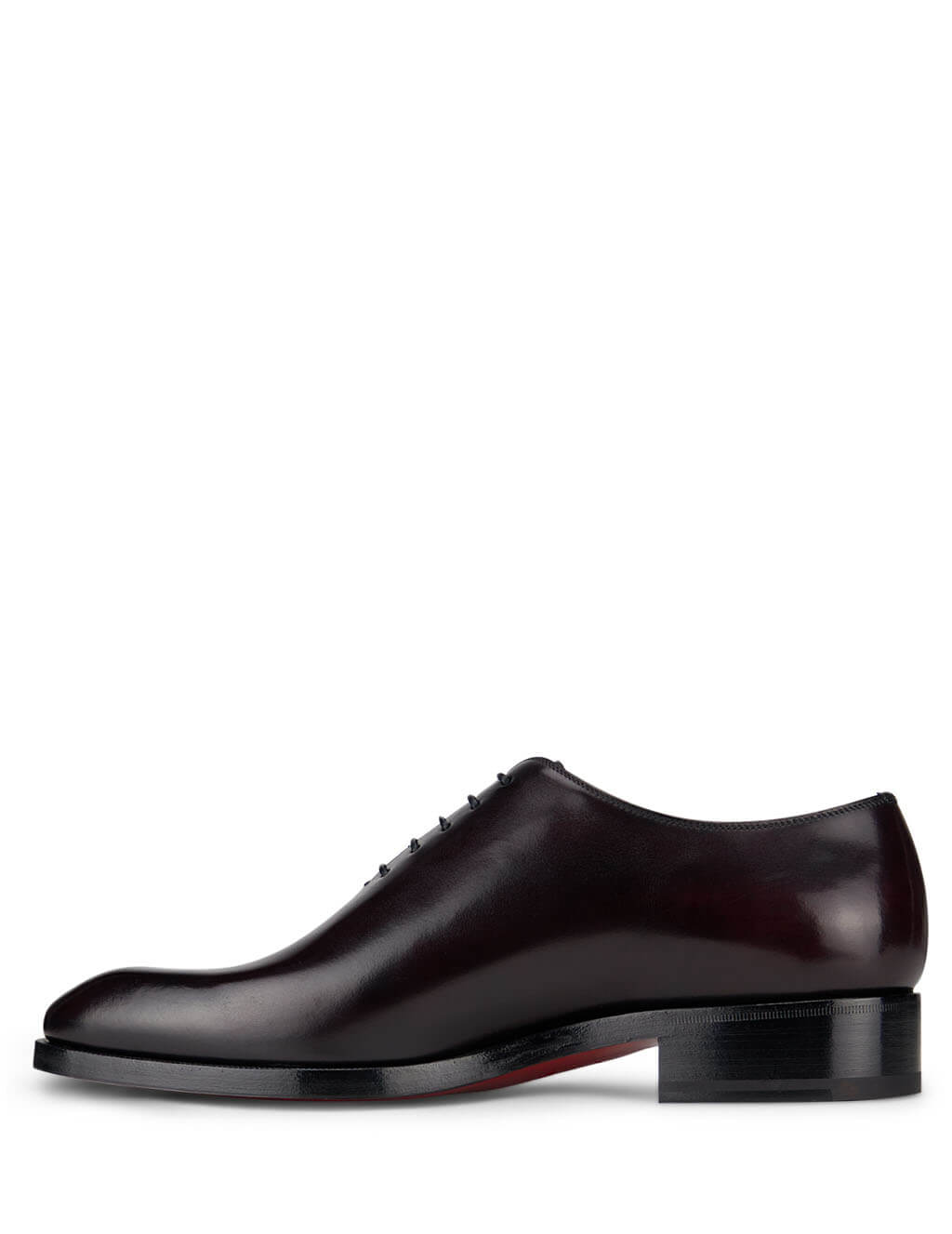 Christian Louboutin Oxblood Cousin Corteo Loafers 3201138R275