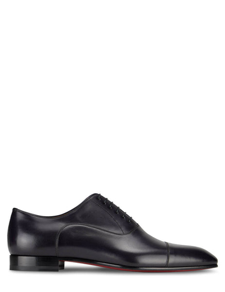 Christian Louboutin Blueberry Greggo Derby Shoes 3170557L211