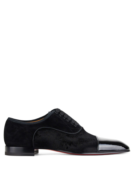 Christian Louboutin Greggo Orlato Oxford Shoes Black 3180339bk01black Men's Giulio Fashion