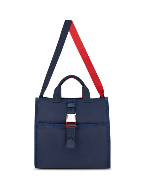 Christian Louboutin Men's Giulio Fashion Navy Loubiclic Tote Bag 3195231U465