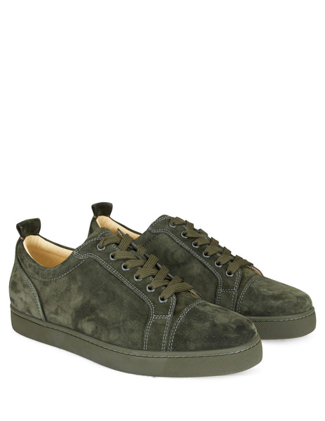 Christian Louboutin Louis Junior Calf Sneakers Green 3170052e207 Men's Giulio Fashion