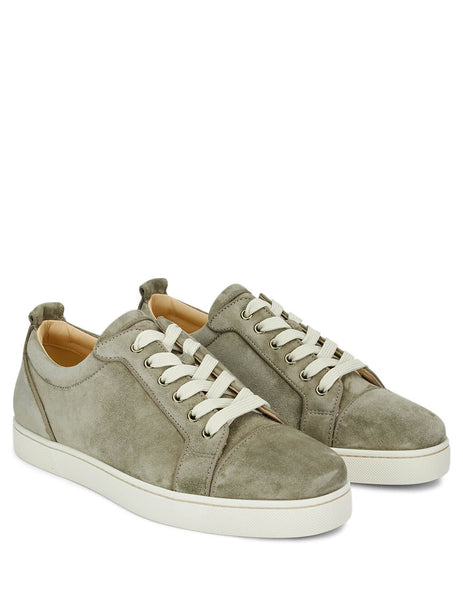 Christian Louboutin Men's Giulio Fashion Green Louis Junior Orlato Sneakers 3190824E080
