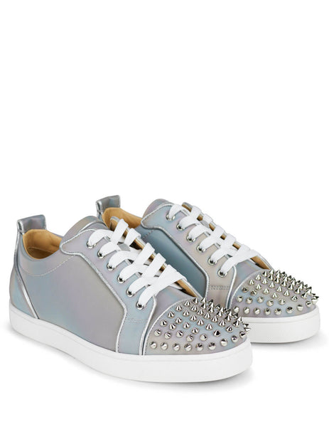 Christian Louboutin Men's Giulio Fashion Silver Louis Junior Spikes Orlato 1201088M251