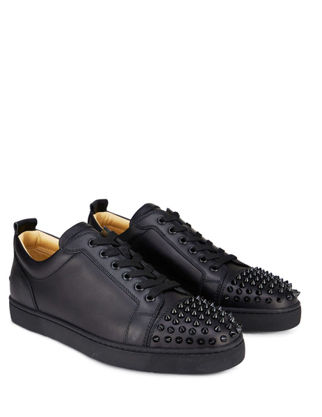 Christian Louboutin Louis Junior Spikes Sneakers Black 1130573CM53 Men's Giulio Fashion