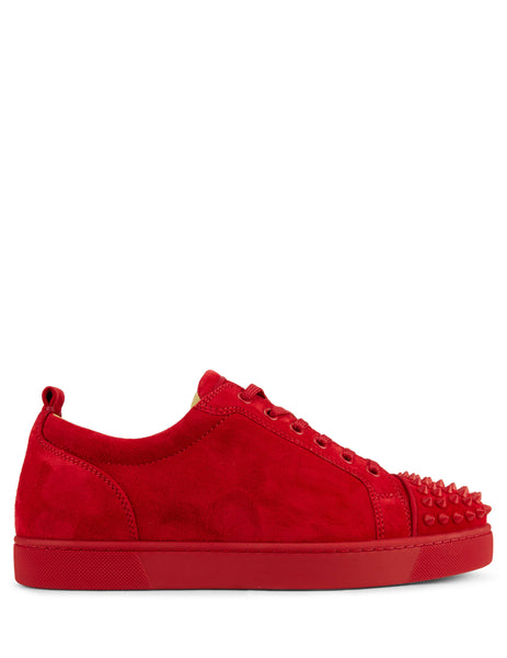 Christian Louboutin Men's Giulio Fashion Red Spikes Sneakers 1180051R264