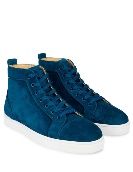 Louboutin Capitaine Louis Orlato Suede Sneakers 3161213U660