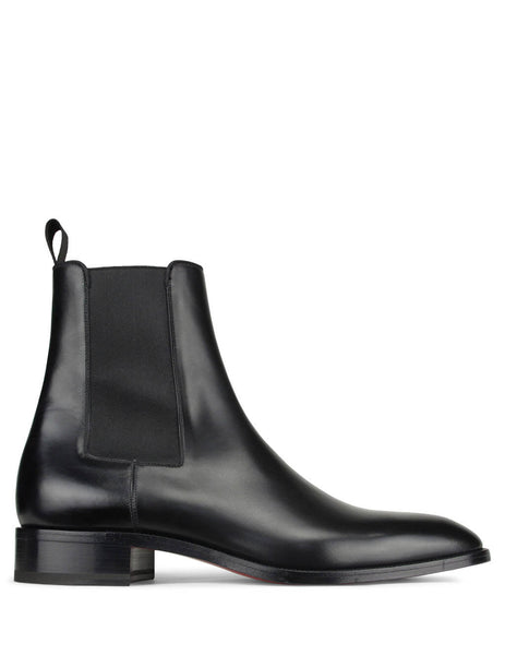 Christian Louboutin Men's Giulio Fashion Black Samson Boots 1180277BK01