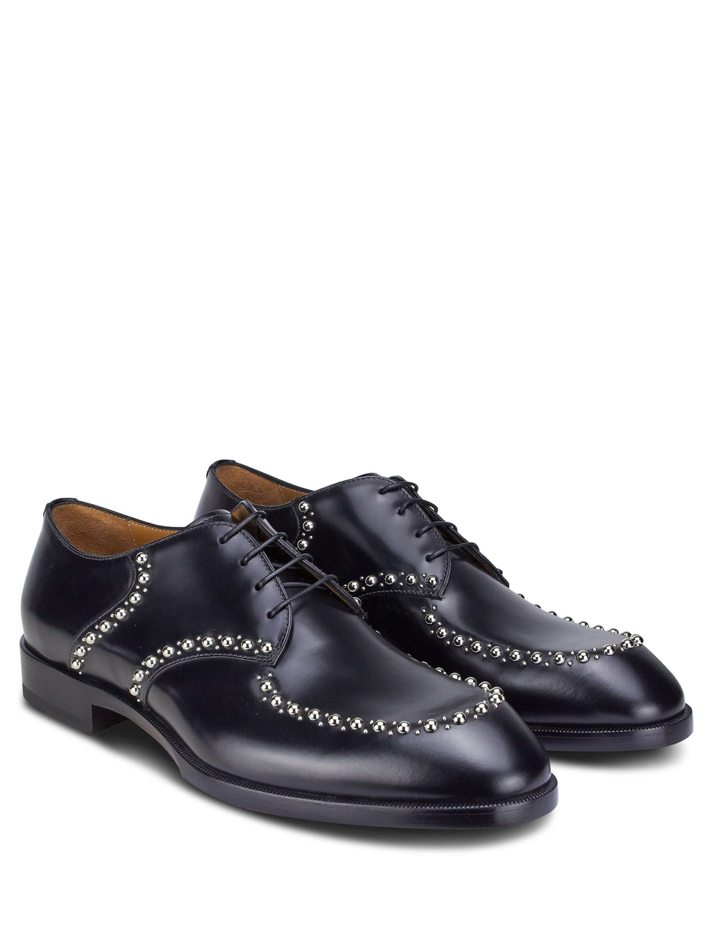 Christian Louboutin Men's Giulio Fashion Black What A Man Etalon Oxford Shoes 1191014BK01