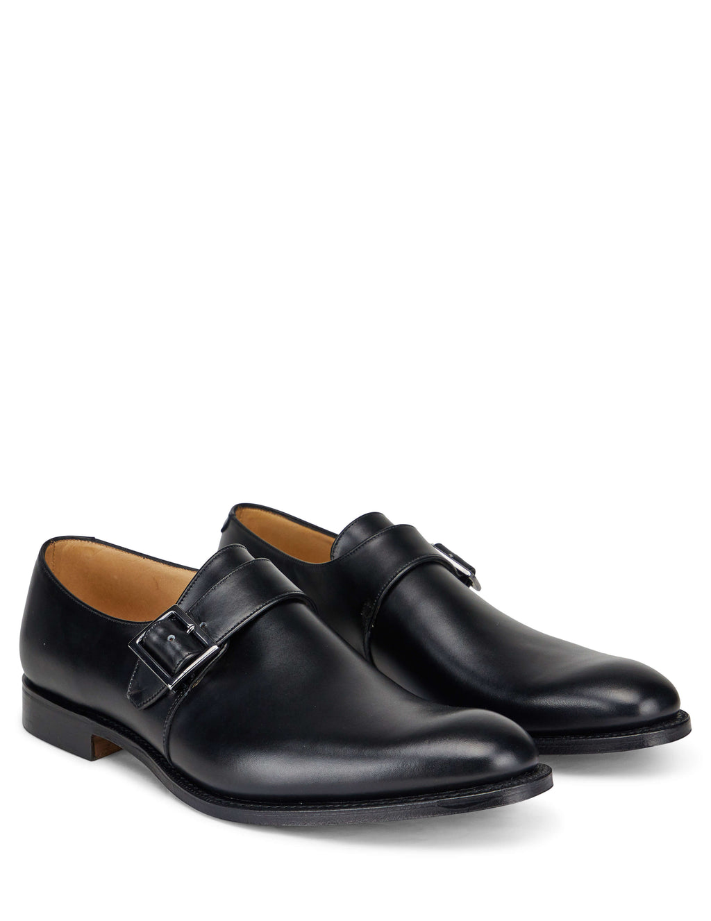 Church's Men's Giulio Fashion Black Becket Monk Shoes EOB0529AFWF0AAB