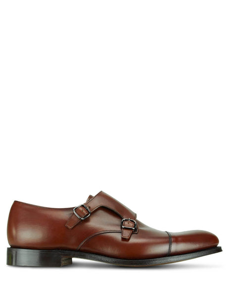 Church's Men's Brandy Detroit Monk Shoes EOB015 9ADW F0AAC