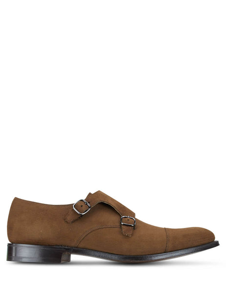 Church's Men's Tobacco Detroit Monk Shoes EOB015 9VR F0AEY
