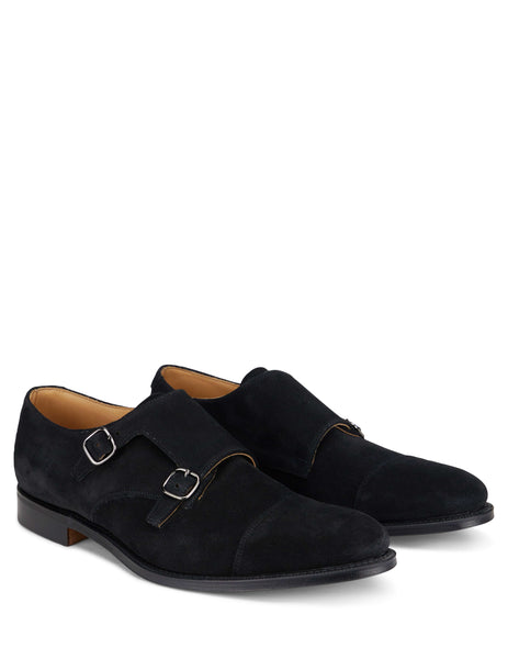 Churchs Men's Giulio Fashion Black Monk Shoes EOB0159VJF0AAB